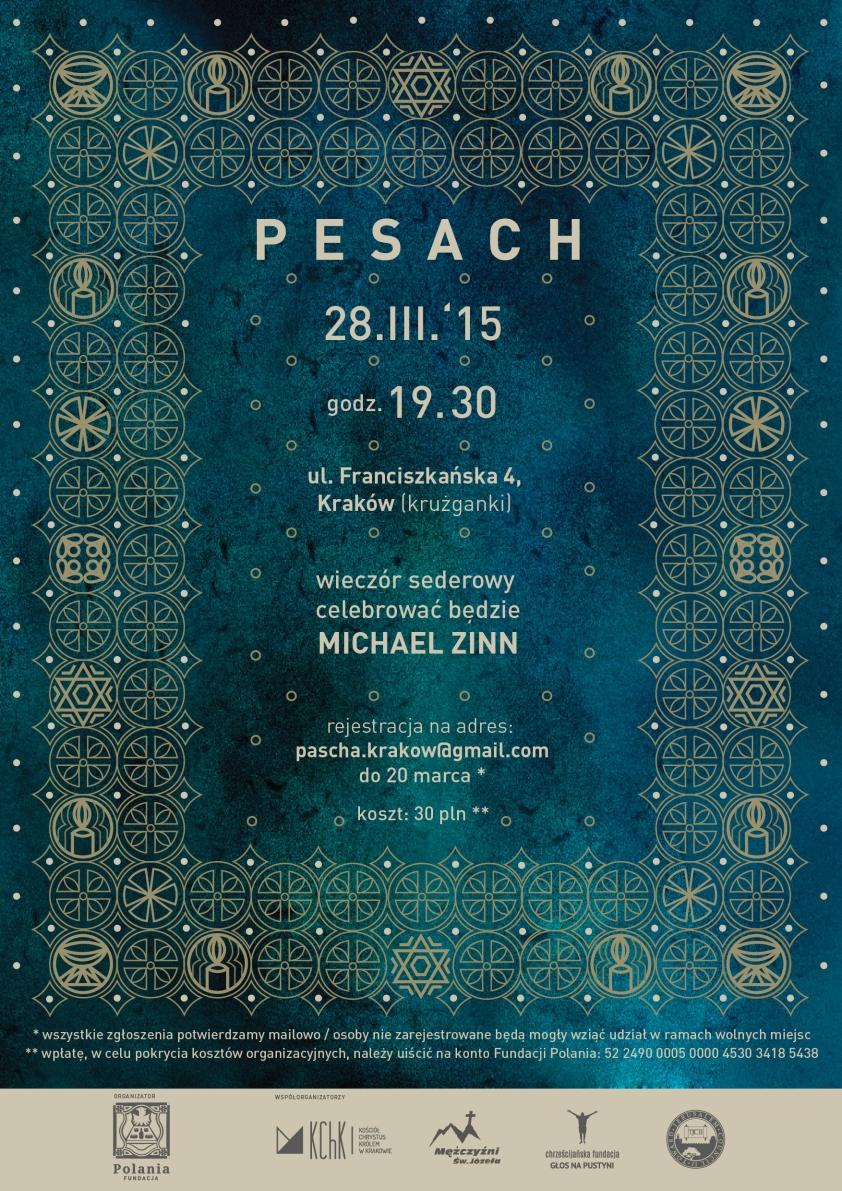 pascha 2015, pesach 2015, fundacja Polania, pascha kraków