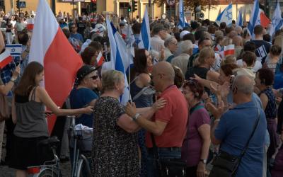Film z Marszu Pamięci i Życia w Krakowie 2016